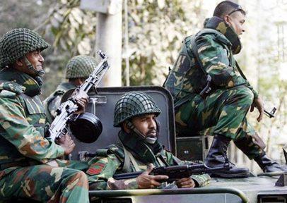 আজ বিকালেই সেনাবাহিনী নামছে কক্সবাজারে